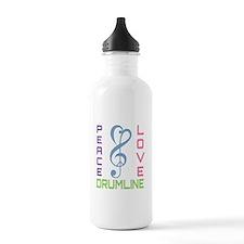 Peace Love Drumline Water Bottle