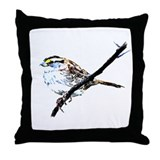 Little Sparrow Throw Pillow