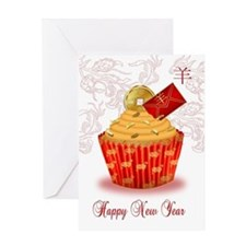 Chinese New Year Of The Ram Card Greeting Cards