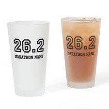 Marathon Name Personalize It! Drinking Glass