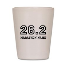 Marathon Name Personalize It! Shot Glass
