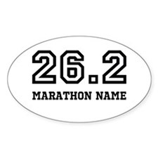 Marathon Name Personalize It! Decal