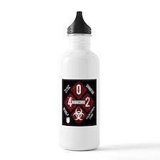 4 Biohazard 2 Water Bottle