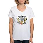Guitar Women's V-Neck T-Shirt