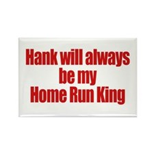 Hank Home Run Rectangle Magnet