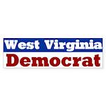 West Virginia Democrat Bumper Sticker