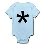 Asterisk Infant Bodysuit