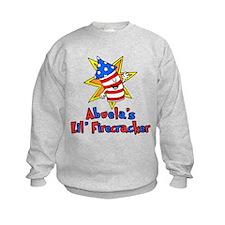Abuela's Little Firecracker Sweatshirt