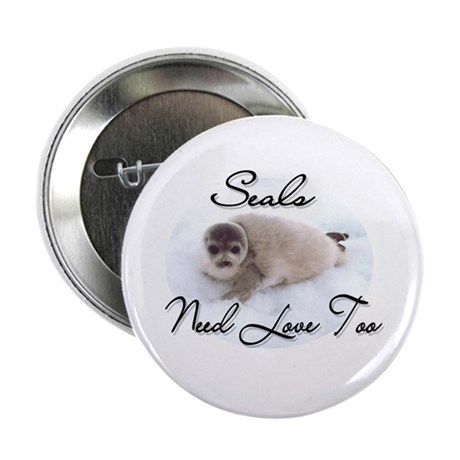 Seals Need Love Button