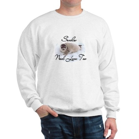 Seals Need Love Sweatshirt