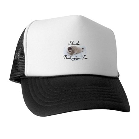 Seals Need Love Trucker Hat