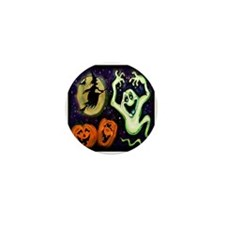 Cute Halloween trick or treat Mini Button