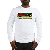 &quot;On The Road Again&quot; Retro Bus Long Sleeve T-Shirt