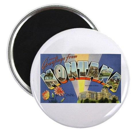 "Greetings from Montana 2.25"" Magnet (10 pack)"