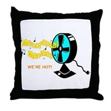 Menopausal Maniacs Throw Pillow