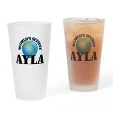 World's Sexiest Ayla Drinking Glass