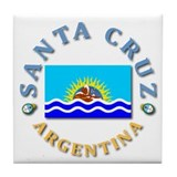 Santa Cruz Tile Coaster