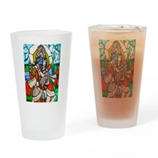 Radha and Krishna Drinking Glass