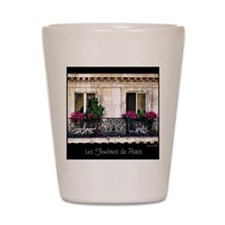Windows Of Paris-Railing Shot Glass