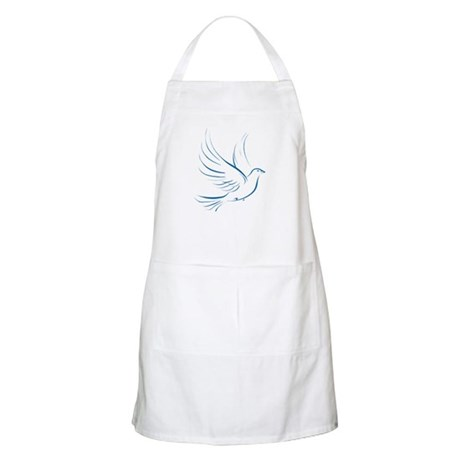 Dove of Peace BBQ Apron