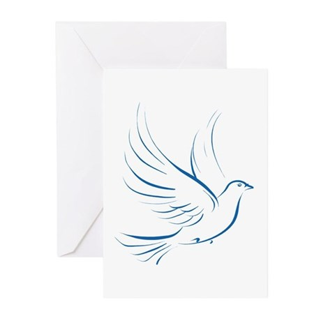 Dove of Peace Greeting Cards (Pk of 10)