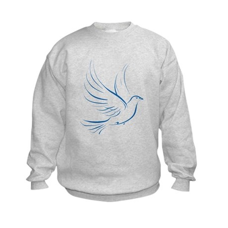 Dove of Peace Kids Sweatshirt