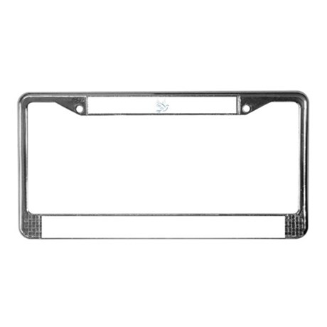 Dove of Peace License Plate Frame