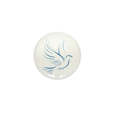 Dove of Peace Mini Button