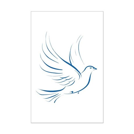 Dove of Peace Mini Poster Print