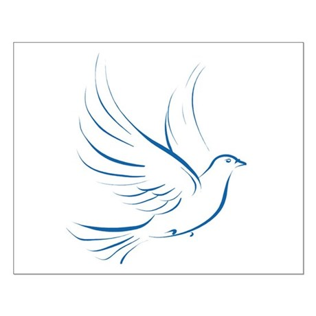 Dove of Peace Small Poster