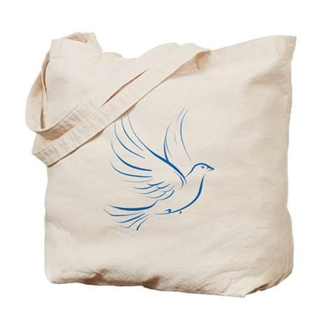 Dove of Peace Tote Bag