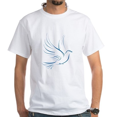 Dove of Peace White T-Shirt