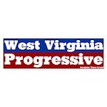 West Virginia Progressive Bumper Sticker