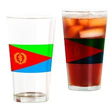 Eritrea Flag Drinking Glass