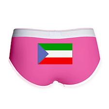 Equatorial Guinea Flag Women's Boy Brief