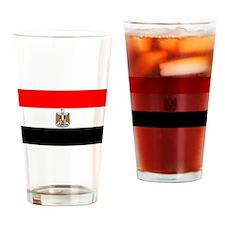 Egypt Flag Drinking Glass