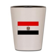 Egypt Flag Shot Glass