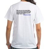 Leonardo da Vinci Quote T-Shirt
