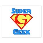 Super Geek Small Poster