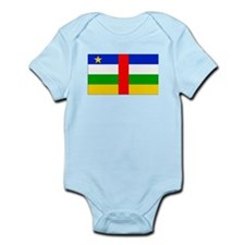 Central African Republic Flag Body Suit