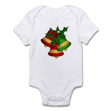 Christmas Bells and Holly Body Suit
