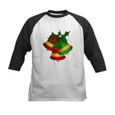 Christmas Bells and Holly Baseball Jersey