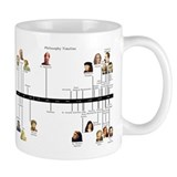 Philosophy Timeline Small Mug