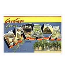 Greetings from Nevada Postcards (Package of 8)