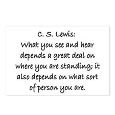 C.S. LEWIS QUOTE Postcards (Package of 8)
