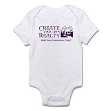 Create Your Own Realty Infant Bodysuit