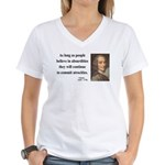 Voltaire 2 Women's V-Neck T-Shirt