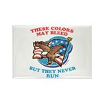 July 4th (2) Rectangle Magnet (100 pack)