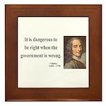 Voltaire 3 Framed Tile