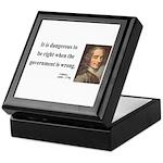 Voltaire 3 Keepsake Box